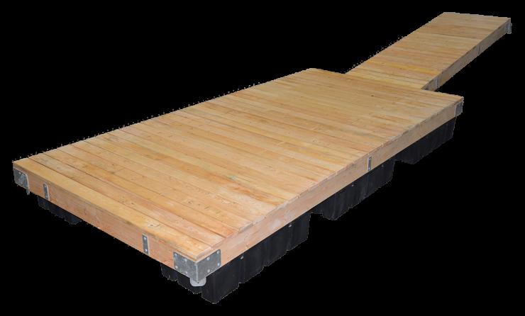 Timber Frame Dock